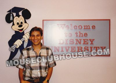 Scott at the Disney University at the Walt Disney Studios in Burbank, CA