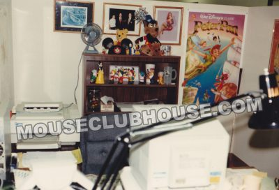 Office of Scott Wolf, assistant producer of TaleSpin
