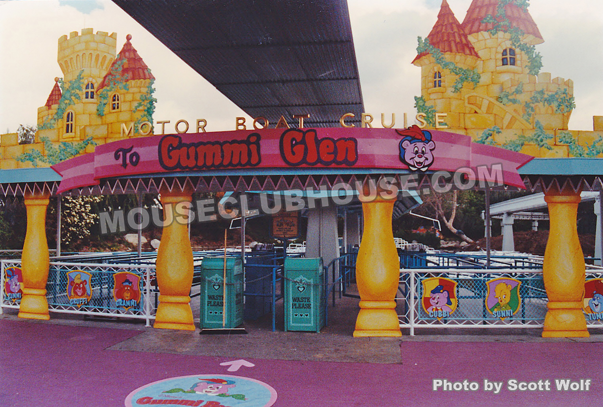 The Disneyland Motor Boat Cruise attraction was transformed into Motor Boat Cruise to Gummi Glen during the Disney Afternoon Live in 1991