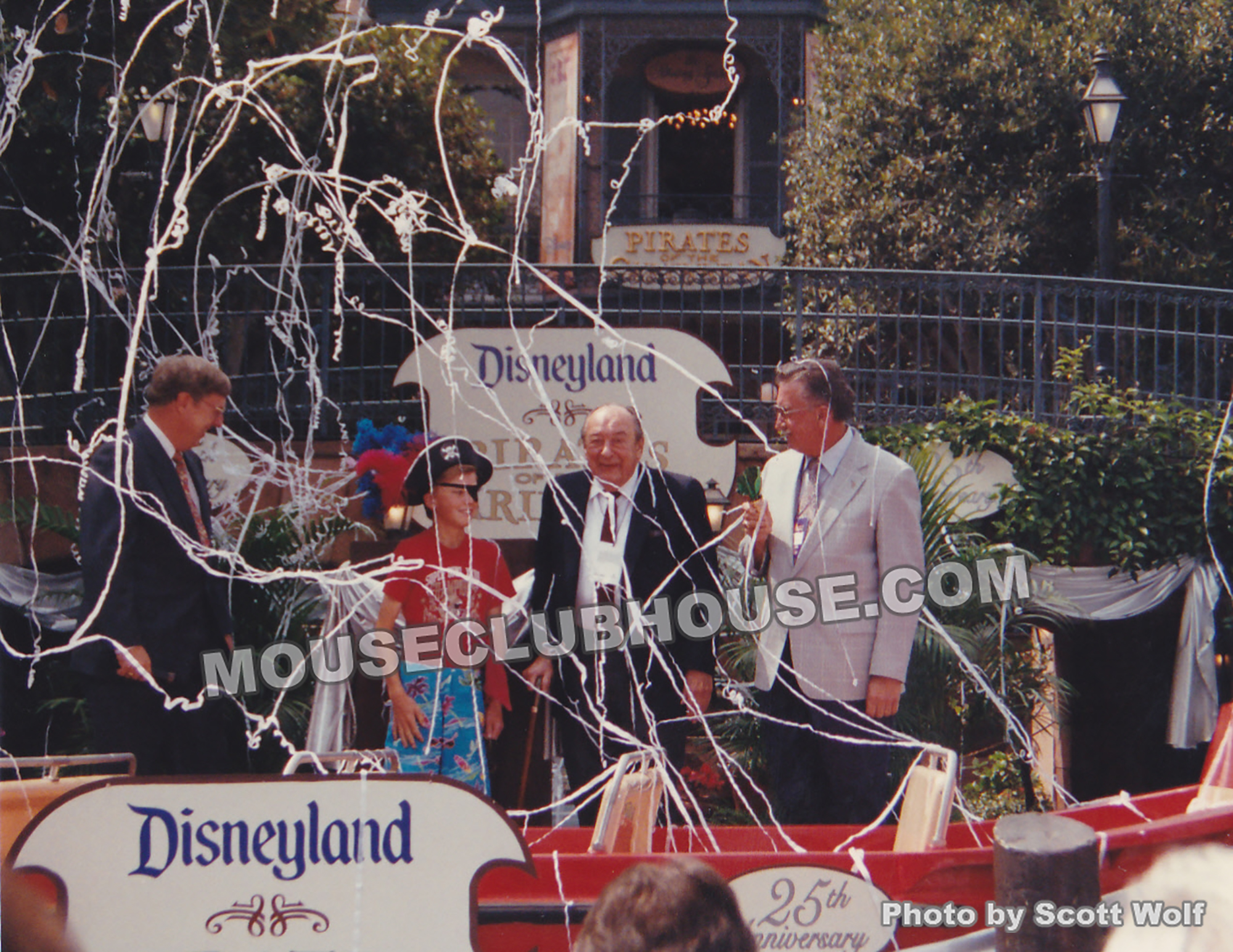 Pirates of the Caribbean contributors X Atencio and Marc Davis christen one of the boats