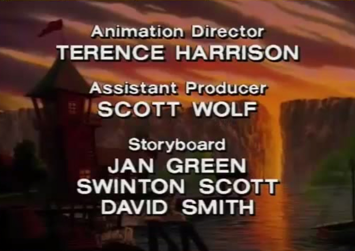 My TaleSpin credit