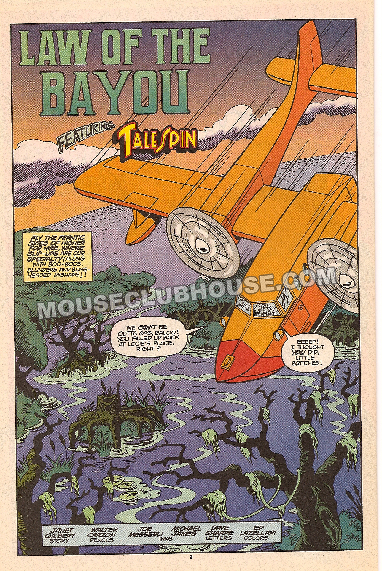 TaleSpin comic book