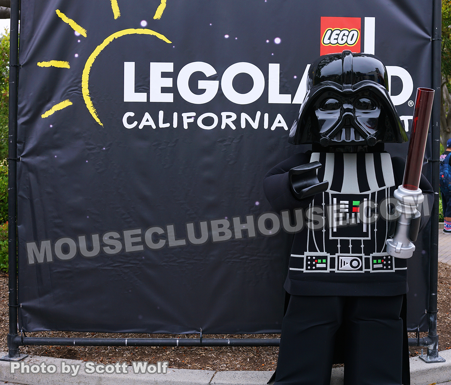 "Come to the ""brick"" side - A LEGO version of Darth Vader"