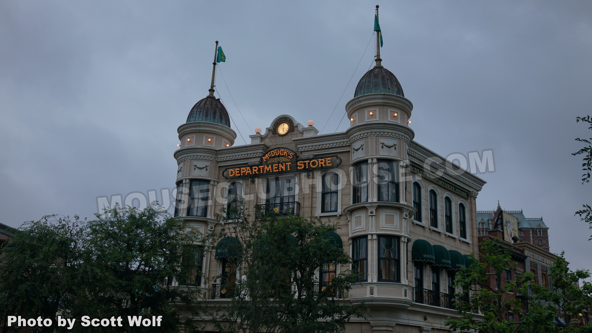 McDuck's Department Store in the American Waterfront, Tokyo DisneySea