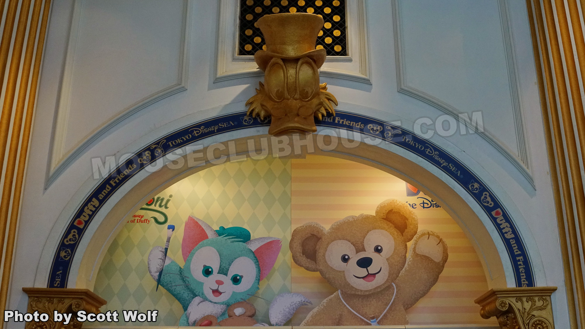 Disney characters Gelatoni and Duffy