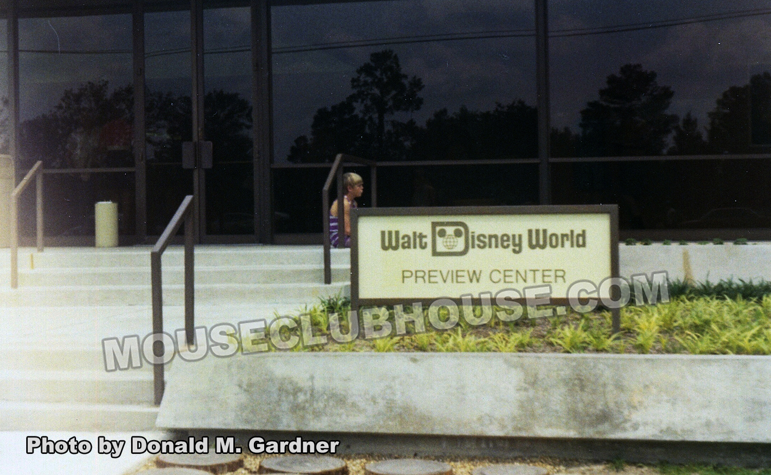 Walt Disney World Preview Center was established so the public could get a glimpse of the resort to come.