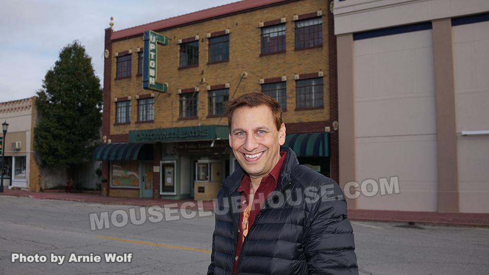 The Uptown Theatre in Marceline, Missouri