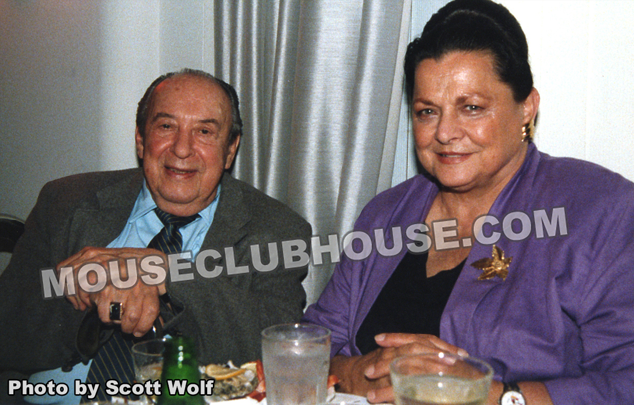 Two Disney Legends: Marc & Alice Davis